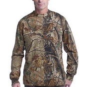 ™ Realtree ® Long Sleeve Explorer 100% Cotton T Shirt with Pocket