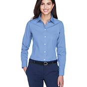 Ladies' Crown Woven Collection™ Solid Oxford