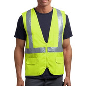 Ansi 107 Class 2 Mesh Back Safety Vest